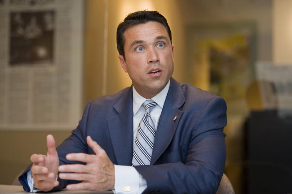 Michael Grimm. (Photo: Getty Images)