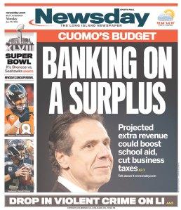 Today's Newsday.