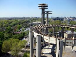 The New York State Pavilion. (Courtesy Flickr)