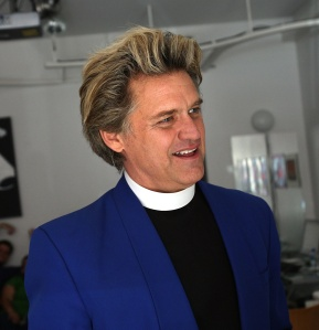 Reverend Billy. (Photo by Getty Images)