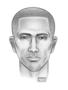 Police are looking for this man in connection to the crime.
