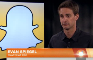 Mr. Spiegel on Today. (Photo: NBC)