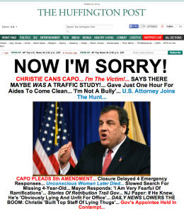 Huffington Post Christie