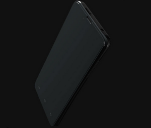 Blackphone on a black background, sure. (Photo: Blackphone)
