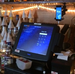 All the cool bars use DASHboards. (Dash)