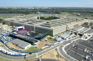 The Pentagon, which didn't want any BlackBerrys right now, thank you very much. (Wikimedia Commons)