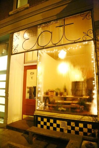 Meserole AVENUE, not Street. (Photo: Astrid Stawiarz, Getty)