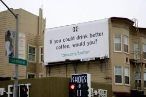 A Tonx billboard in San Francisco. (Photo: Tonx)