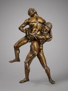 'Hercules and Antaeus' (cast ca. 1460), attributed to Maso Finiguerra. (Maggie Nimkin Photography, courtesy the Frick)