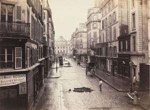'Rue de Constantine (Fourth Arrondissement),' 1866. (Courtesy the Metropolitan Museum of Art)