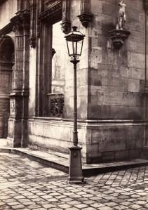 'Lamppost, Entrance to the École des Beaux-Arts,' ca. 1870. (Courtesy the Metropolitan Museum of Art)