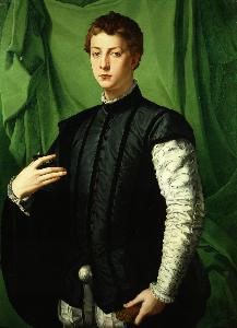 'Lodovico Capponi' (1550–55) by Bronzino. (Courtesy the Frick)