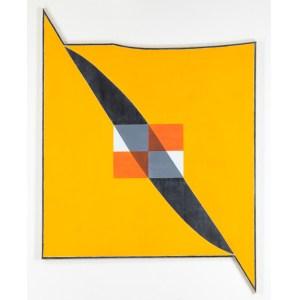 'Untitled' (1985) by Quaytman. (Courtesy McKee Gallery)