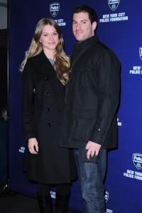 Clara Samuelsson and Scott Wilpon (Patrick McMullan)