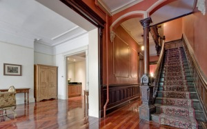 Grand parlor and staircase