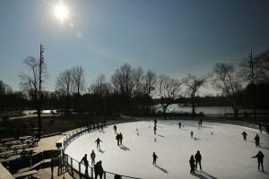 Skaters in Prospect Park. (Photo: Getty)
