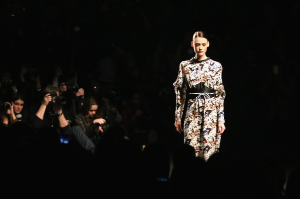TRESemme At Vivienne Tam - Front Row - Mercedes-Benz Fashion Week Fall 2014