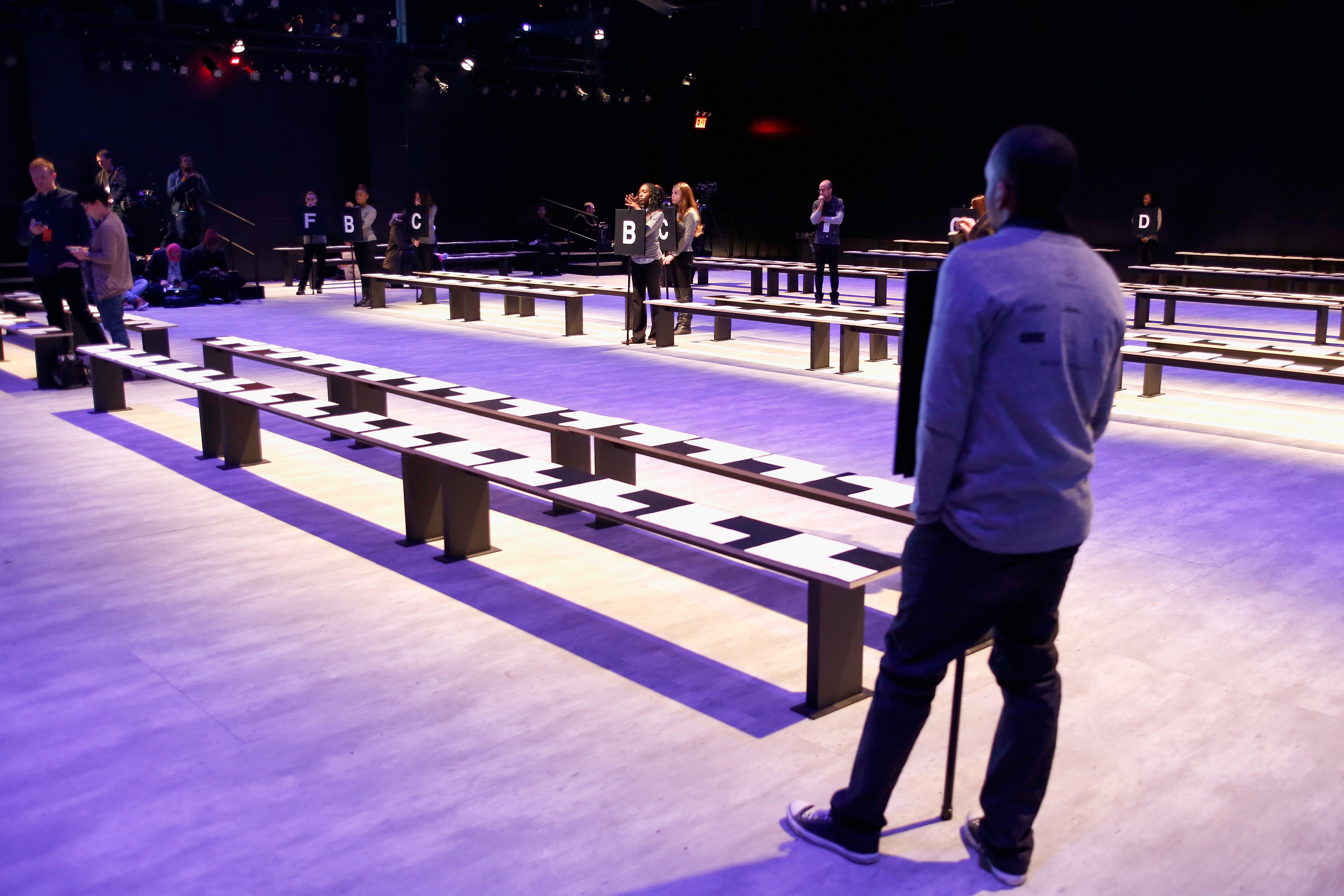 Mathieu Mirano - Backstage - Mercedes-Benz Fashion Week Fall 2014