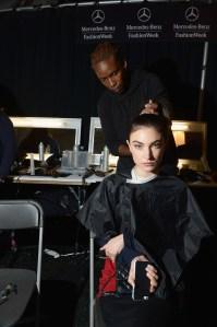 Carolina Herrera - Backstage - Mercedes-Benz Fashion Week Fall 2014
