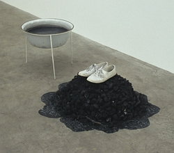 'Lets Burn Up Into a Clear Fire of Glowing Embers' (2008) by Nina Canell, who participates in the trust. (Courtesy the artist and APT)