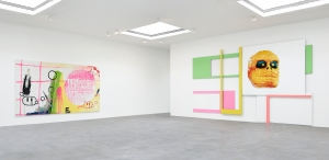 Installation view at 522 West 22nd Street. (Photo by Stephan Sagmiller, courtesy Matthew Marks Gallery)