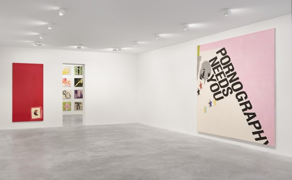 Installation view at 526 West 22nd Street. (Photo by Stephan Sagmiller, courtesy Matthew Marks Gallery)