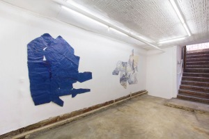 Installation view of Amanda Friedman's 2012 show at Eli Ping. (Courtesy the artist and Eli Ping)