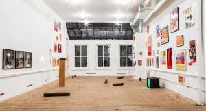 Installation view at 55 Walker Street. (Courtesy Artists Space)