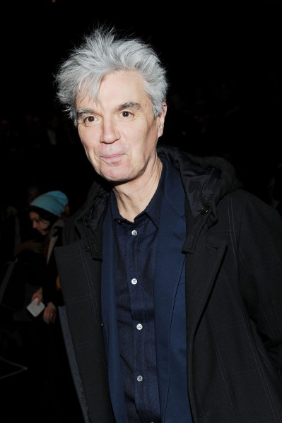 David Byrne. (Photo via Getty Images)