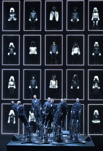 The Moncler Grenoble Fall 2014 Presentation at the Hammerstein Ballroom on February 8, 2014 in New York City.