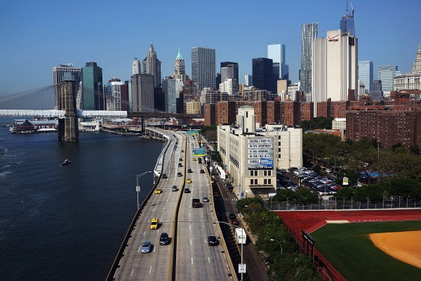 The FDR East River Drive. (Photo via Getty Images)