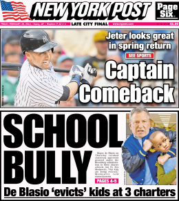 Today's New York Post.