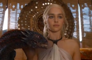 Dany and her dragons. (HBO)