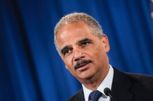 Eric Holder. (Photo via Getty Images)
