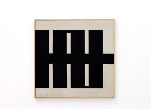'MS 09' (1962) by Knifer. (Courtesy the artist and Mitchell-Innes & Nash)