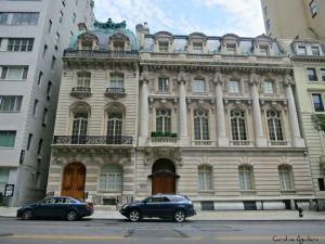 The combination of 7-9 East 72nd Street created the largest single family home in the city.