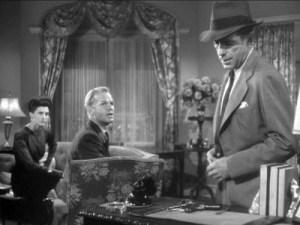 Humphrey Bogart as Philip Marlowe in The Big Sleep. (Courtesy imfdb.org)