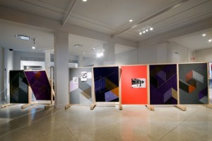 Installation view of Tajima's 2010 show at the Bass. (Courtesy the Bass)