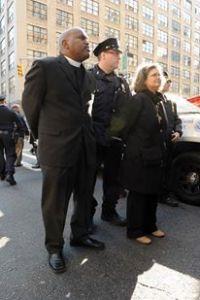 Bishop Orlando Findlayter  arrested after protesting at an immigration rally. (Photo: Facebook)