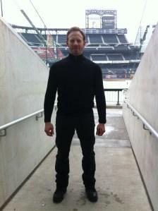 Ian Ziering is ready to kill some sharks.
