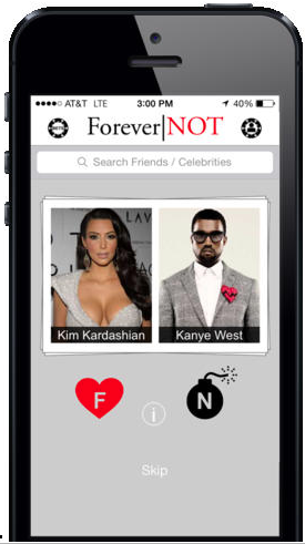 forever not app rate friends' relationships