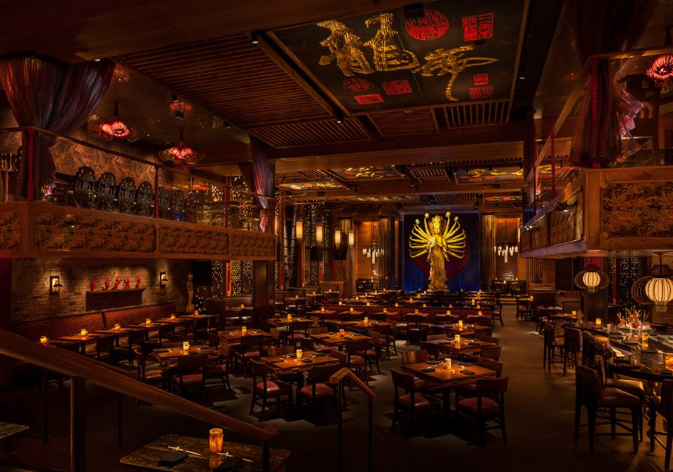 TAO Downtown transports us to another world with their Asian interior design (Photo by TAO Downtown).
