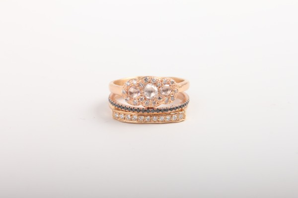 Or consider a stacked ring look.