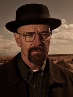Jordan Gonzalez couldn't quite achieve his Heisenberg fantasy.  Walter White. (Photo: Wikimedia)