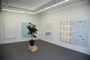 Installation view of 'Donelle Woolford: Dick Jokes' at Wallspace. (Courtesy Wallspace)