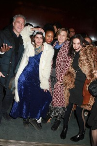 """""""BCBGMAXAZRIA partners with the Whitney Museum of American Art for the  2014 Biennial Opening Night."""" (Photo and caption courtesy Patrick McMullan)"""