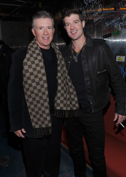 Robin and Alan Thicke (Getty)