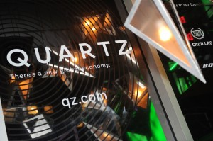 Media Company Launch Party For Quartz