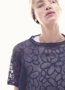 Brunello Cucinelli floral knit top