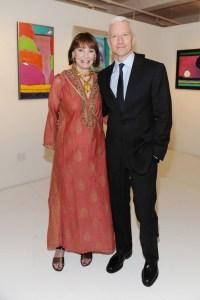 Gloria Vanderbilt and Anderson Cooper (Patrick McMullan)
